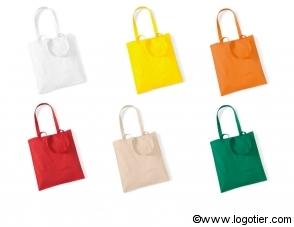 6 coloris disponibles pour ce sac coton d'un très bon rapport qualité prix . Marquage dans nos ateliers près d'Orléans , livraison sous 5 jours .