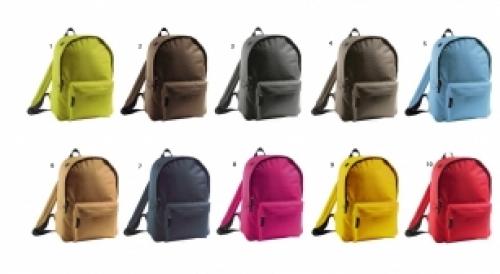 10 couleurs disponibles pour ce sac à dos .