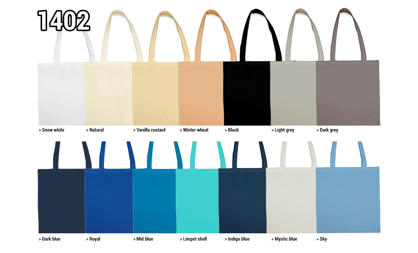 Sac shopping coton.Composition: